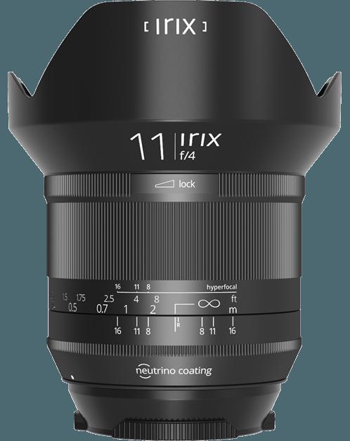 IRIX 11 mm f/4 Blackstone pro Nikon
