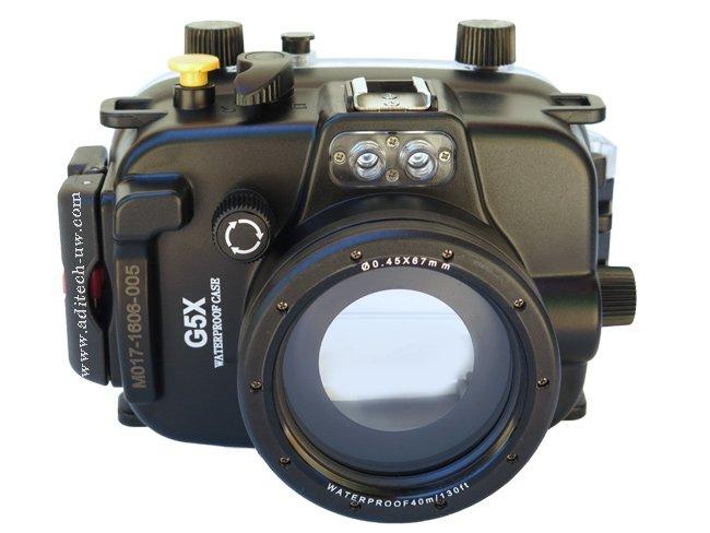 MEIKON podvodní pouzdro pro Canon PowerShot G5X