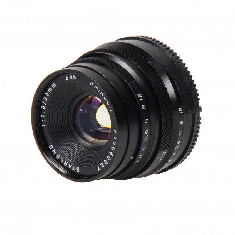 STARLENS Rainbow 35 mm f/1,8 pro Olympus/Panasonic MFT černý
