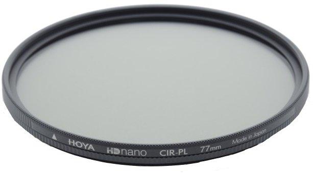 HOYA filtr polarizační cirkulární HD nano 55 mm
