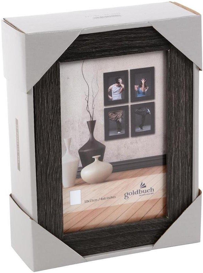 GOLDBUCH rám 4ks 10x15, set, dřevo, černá