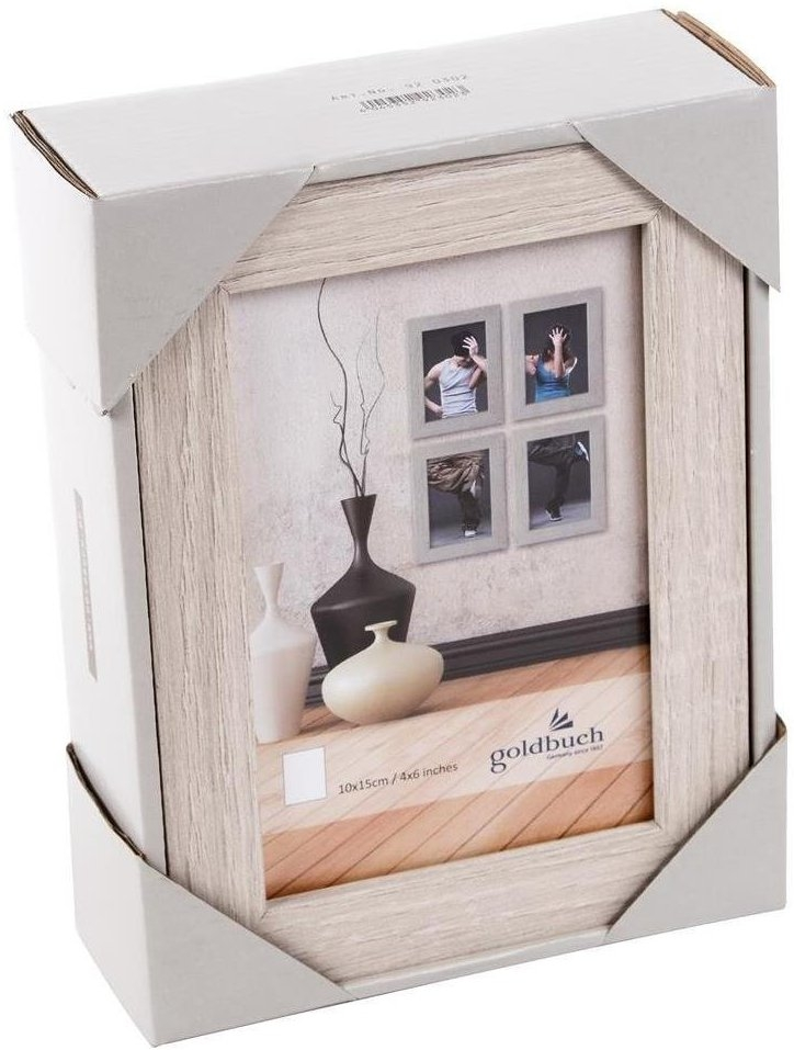 GOLDBUCH rám 4ks 13x18, set, dřevo bílá