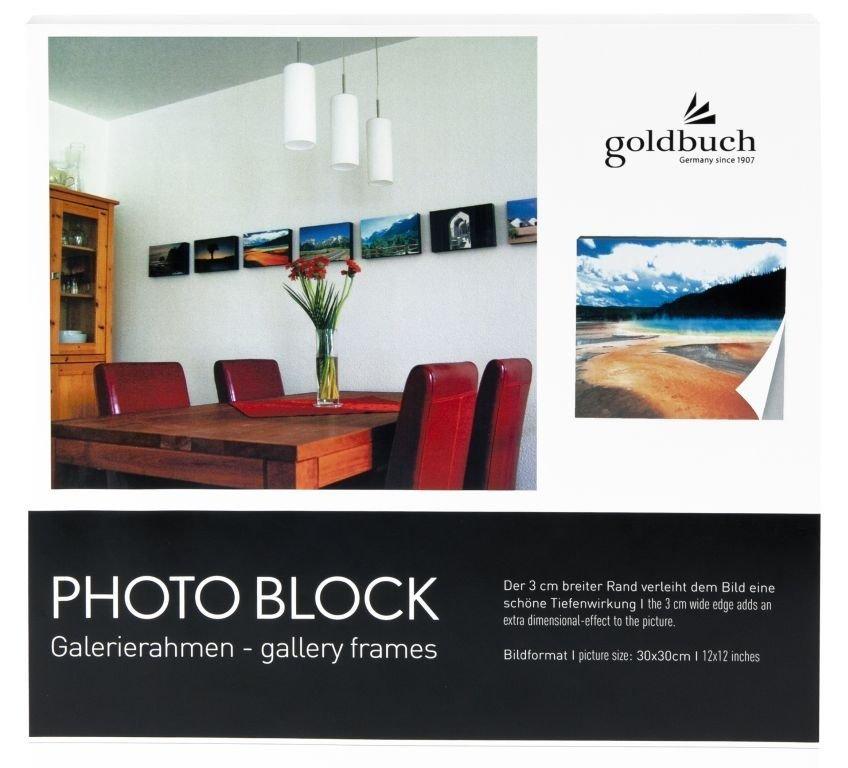 GOLDBUCH samolepicí rámeček 30x30, boky bílé