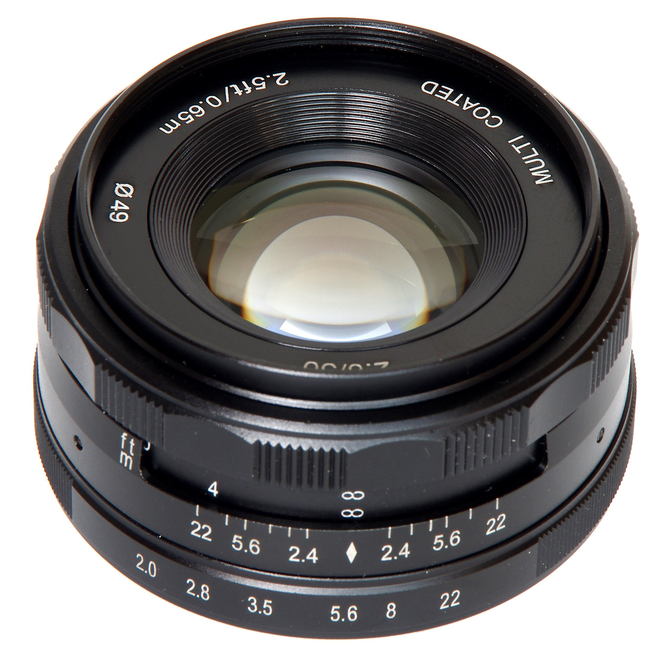 MEIKE 50 mm f/2 MC pro Olympus/Panasonic MFT