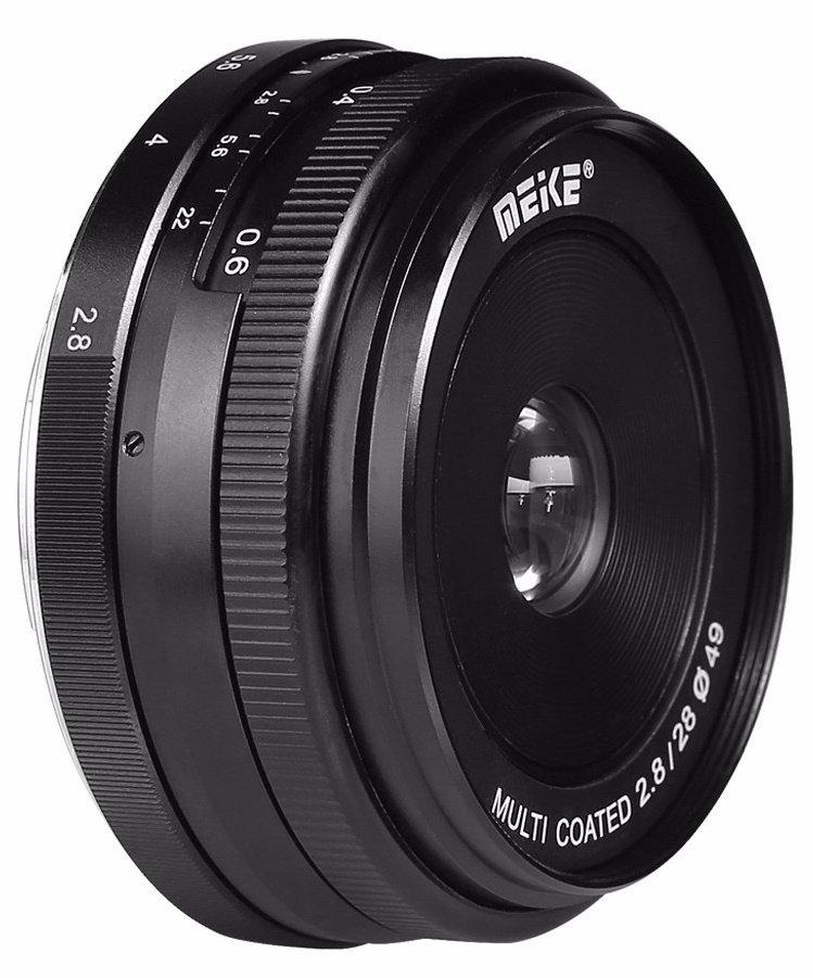 MEIKE 28 mm f/2,8 MC pro Olympus/Panasonic MFT