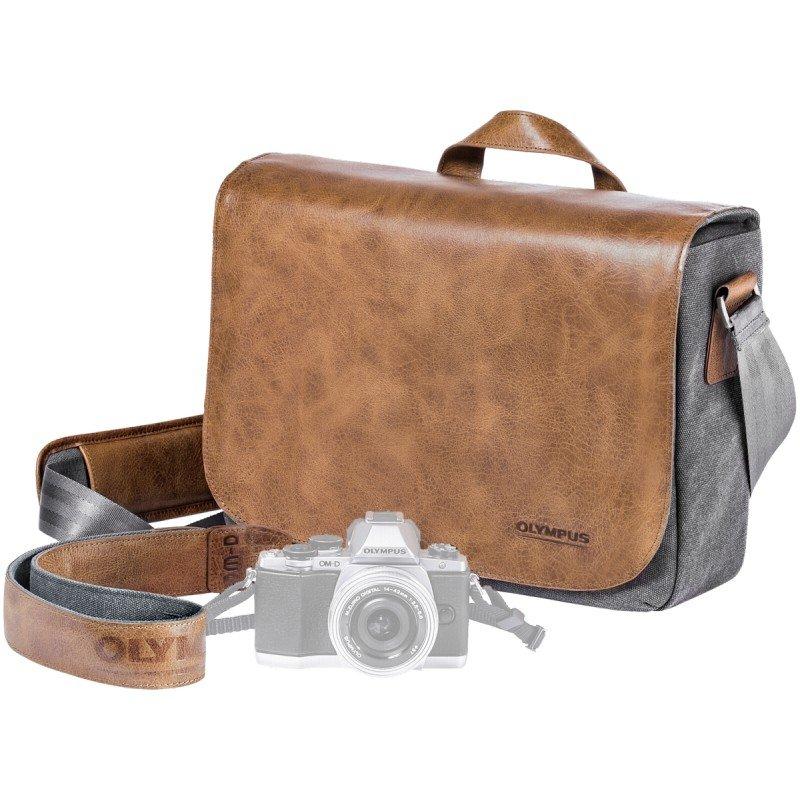 OLYMPUS Brašna OM-D Messenger Bag Leather