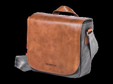 OLYMPUS Brašna OM-D Mini Messenger Bag Leather