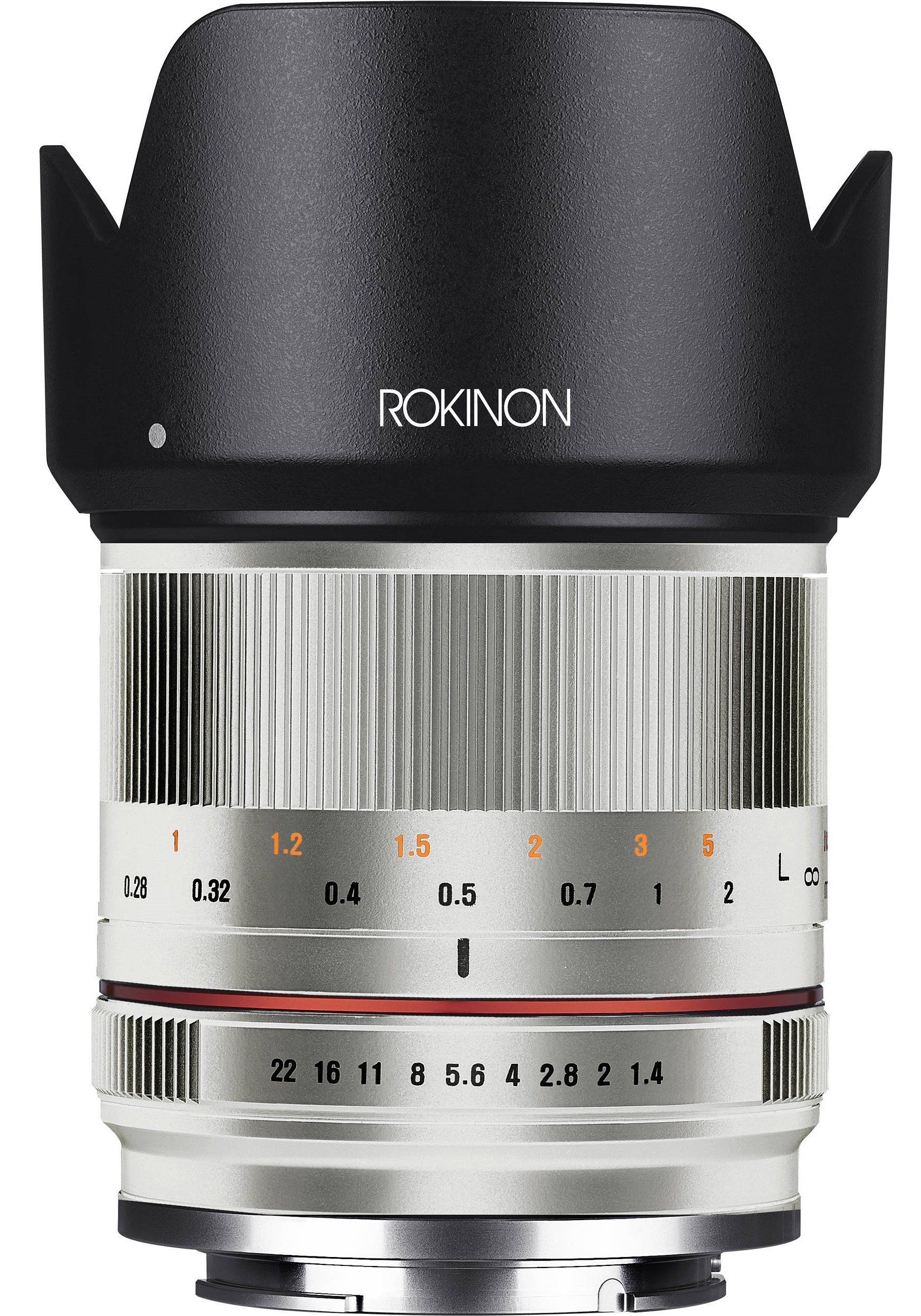 SAMYANG 21 mm f/1,4 ED AS UMC CS pro Canon EOS M stříbrný