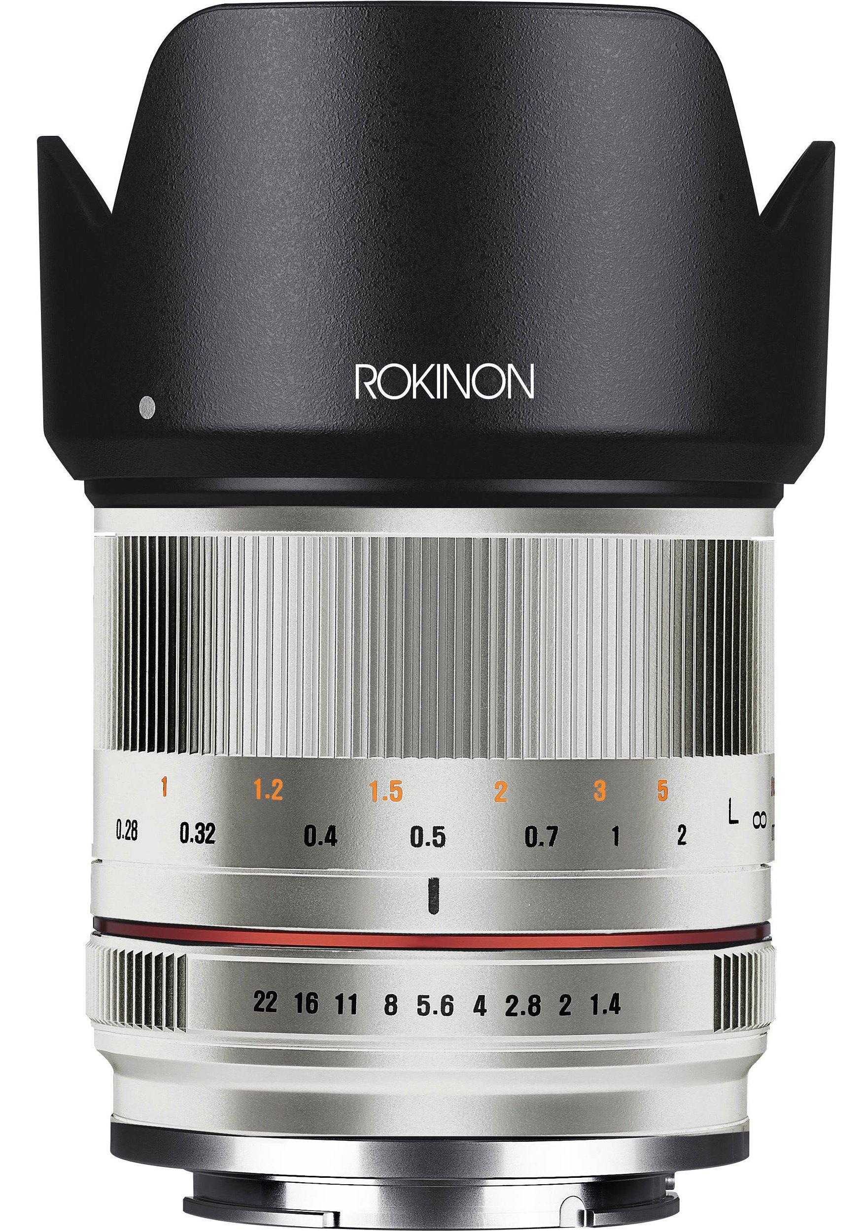 SAMYANG 21 mm f/1,4 ED AS UMC CS pro Fujifilm X stříbrný