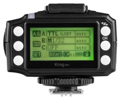 PIXEL KING PRO rádiový vysílač blesku Canon E-TTL II