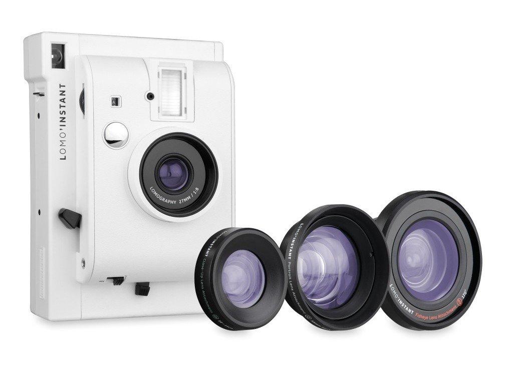 LOMOGRAPHY Lomo Instant & Lenses - bílý