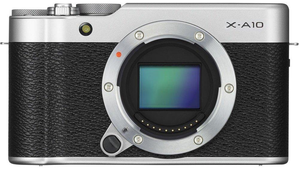 FUJIFILM X-A10 stříbrný + XC 16-50mm