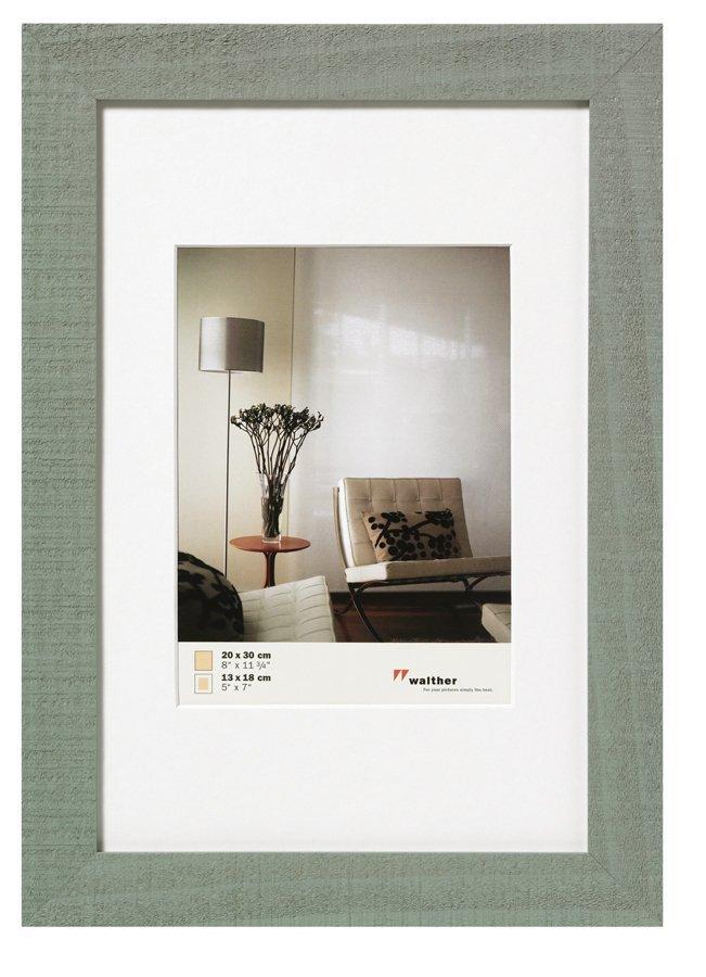 WALTHER HOME 21x30, dřevo, šedá