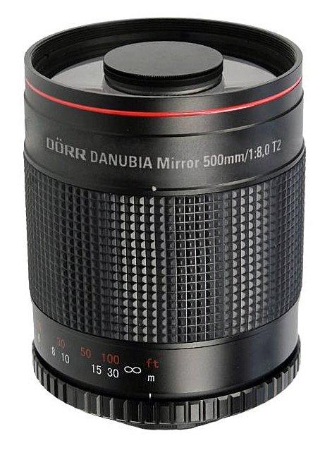 DORR DANUBIA 500 mm f/8 Mirror MC pro Olympus/Panasonic MFT