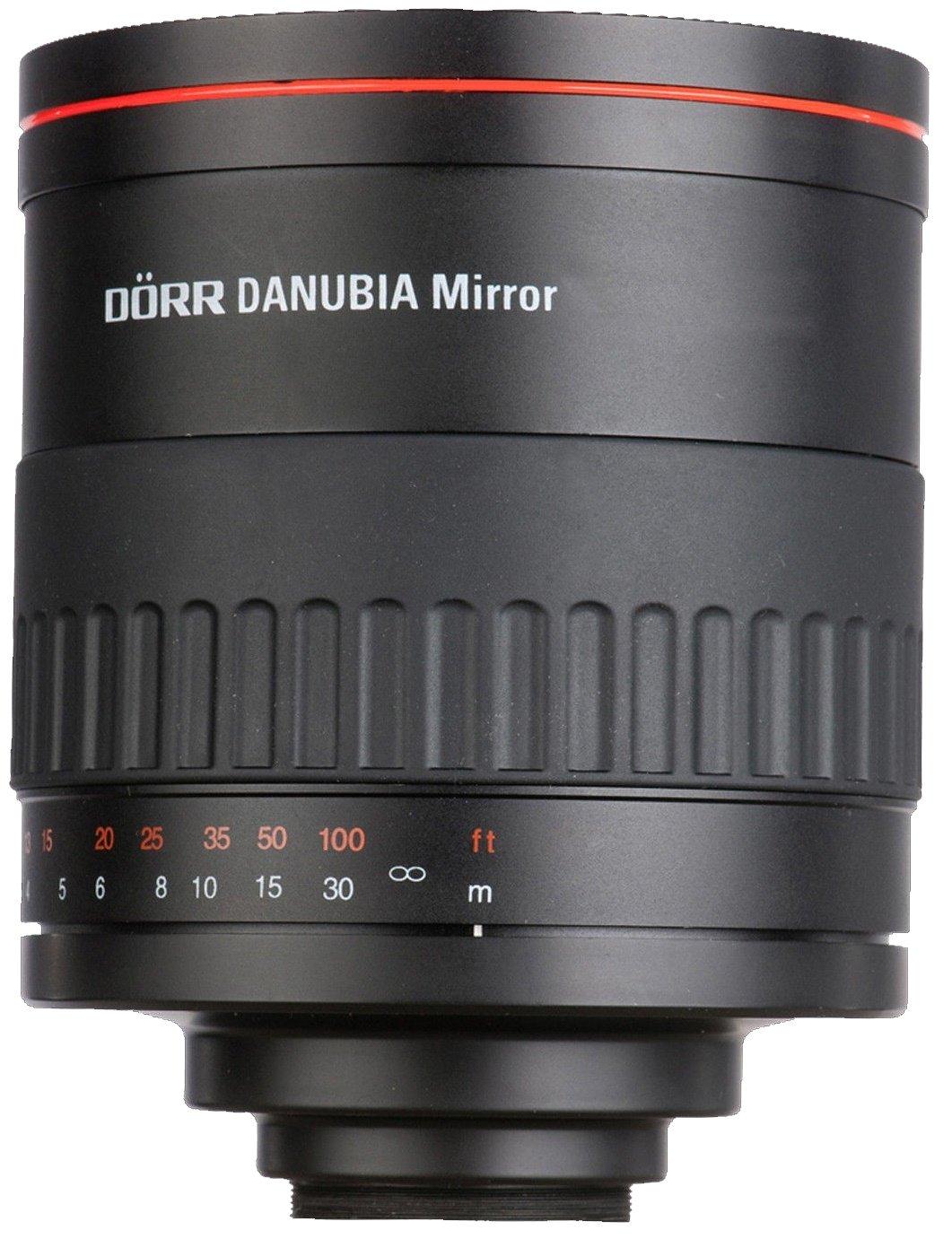 DORR DANUBIA 500 mm f/6,3 Mirror MC pro Canon EOS M