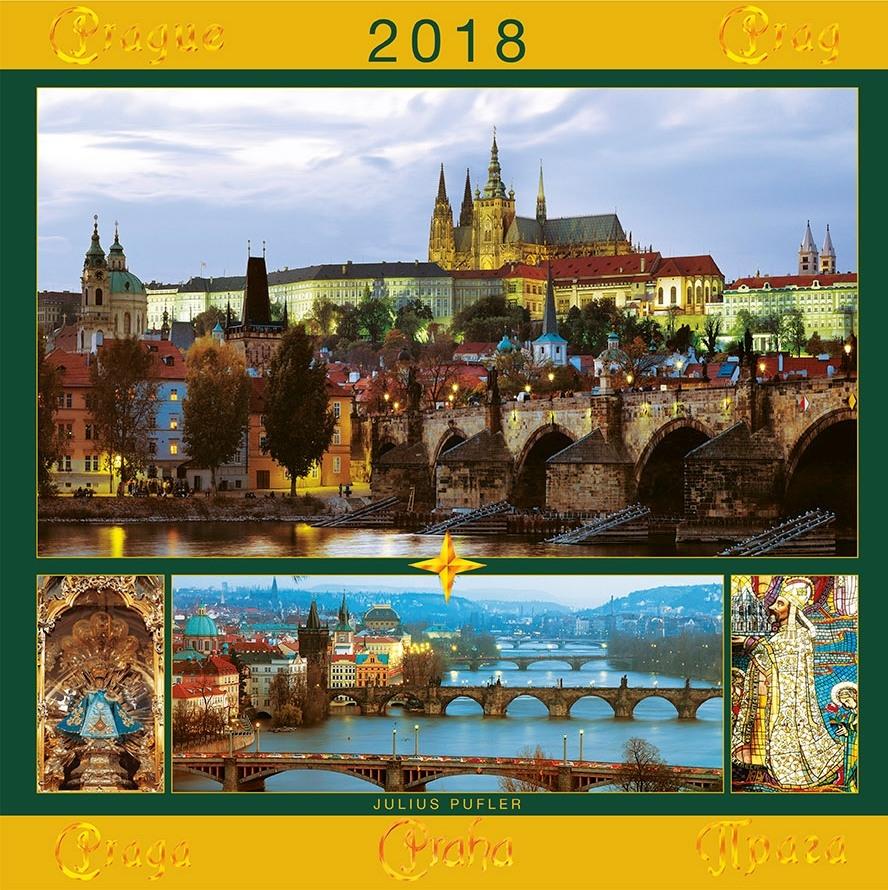 Kalendář Pufler PRAHA 2018