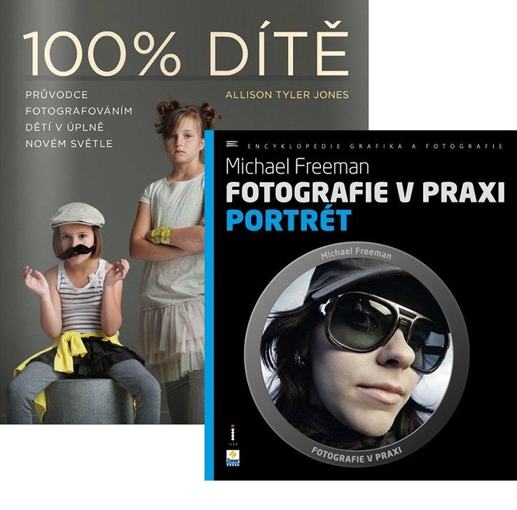 Knižní balíček PORTRÉT + 100% DÍTĚ