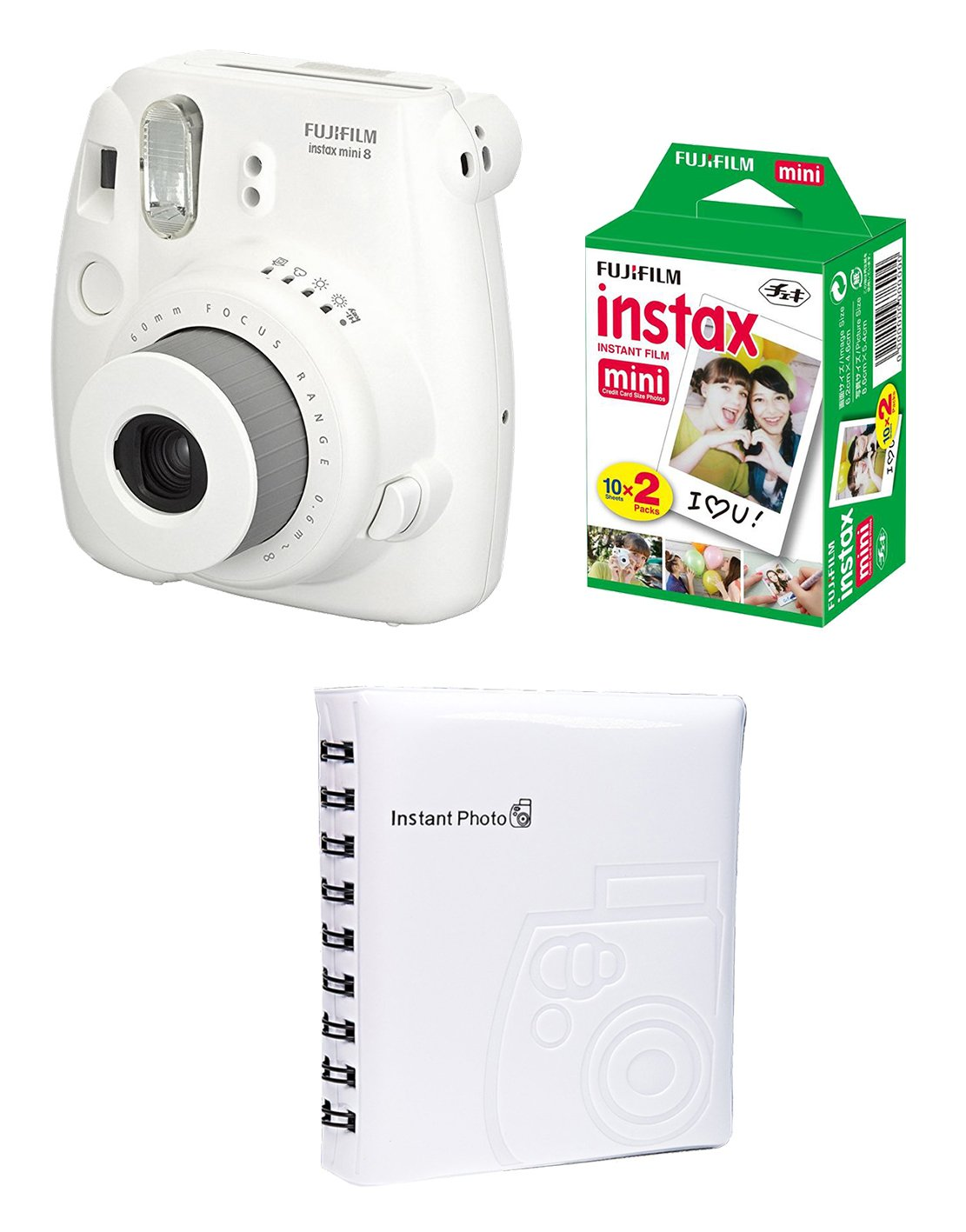 FUJIFILM INSTAX Box Medium MINI 8 bílý
