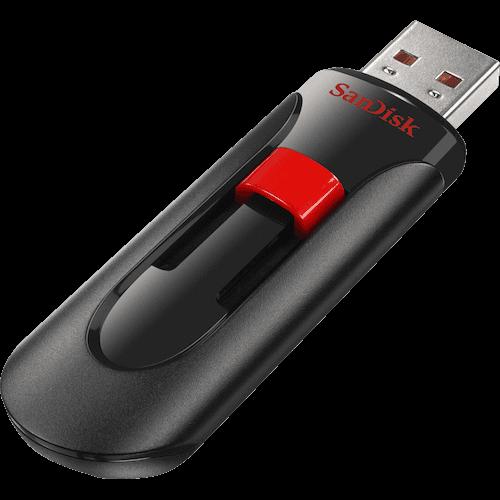 SANDISK USB 2.0 32 GB Cruzer Glide
