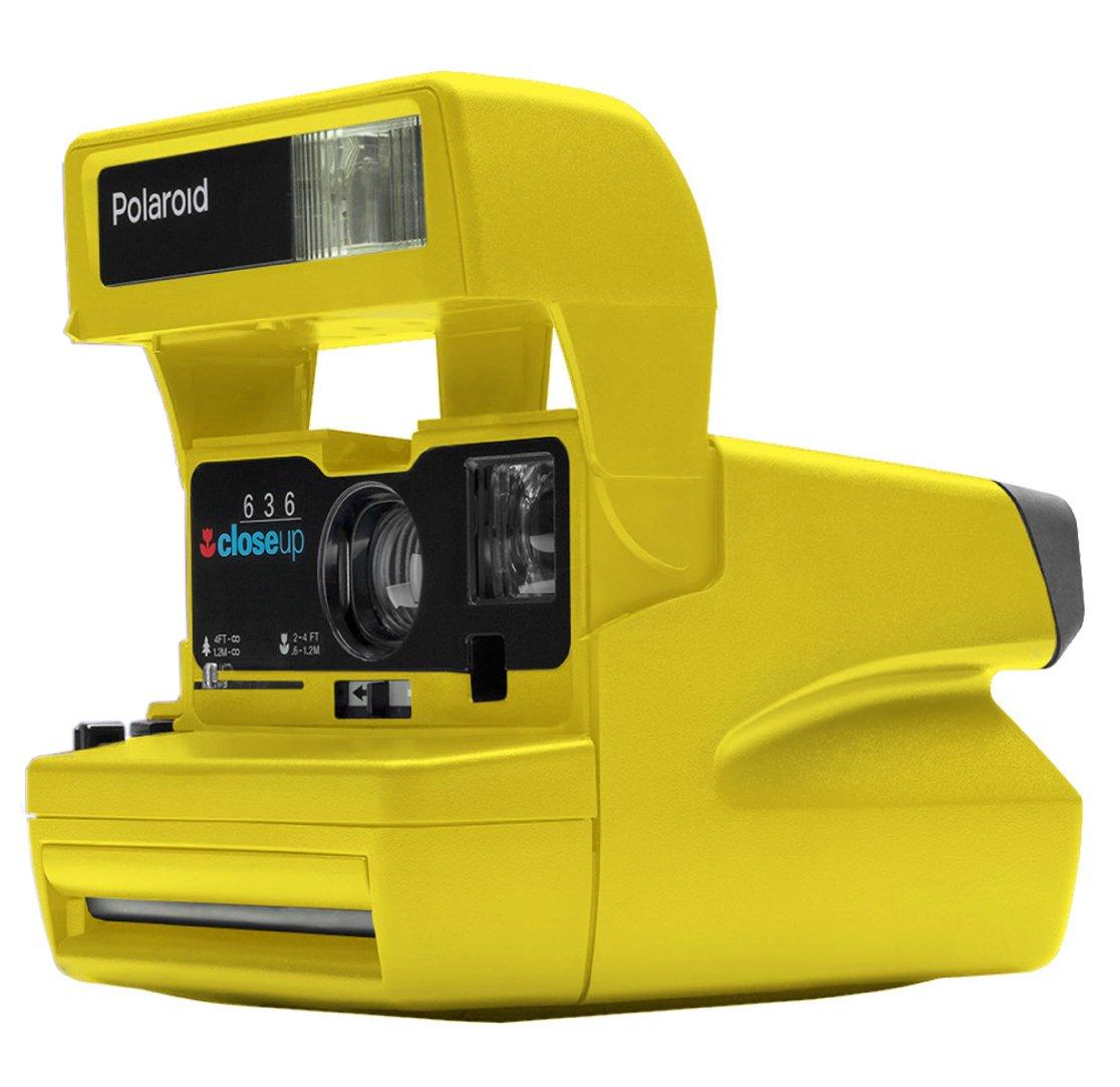 POLAROID 600 80s žlutý - REPASOVANÝ PŘÍSTROJ záruka 6 měsíců
