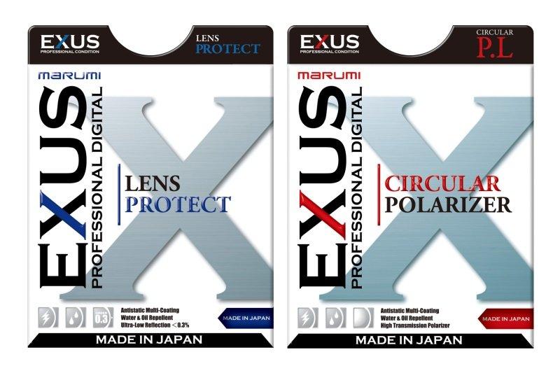MARUMI filtr 58mm EXUS UV - Lens protect + Polarizační cirkulární