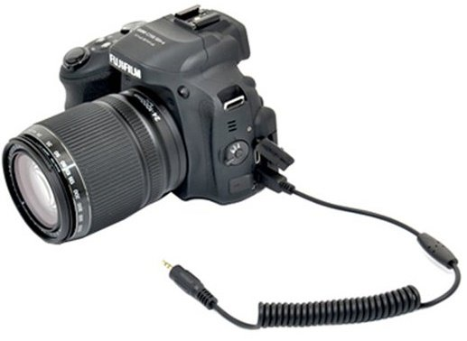 JJC kabel Fujifilm RR-80A pro HS50EXR jack 2,5 mm