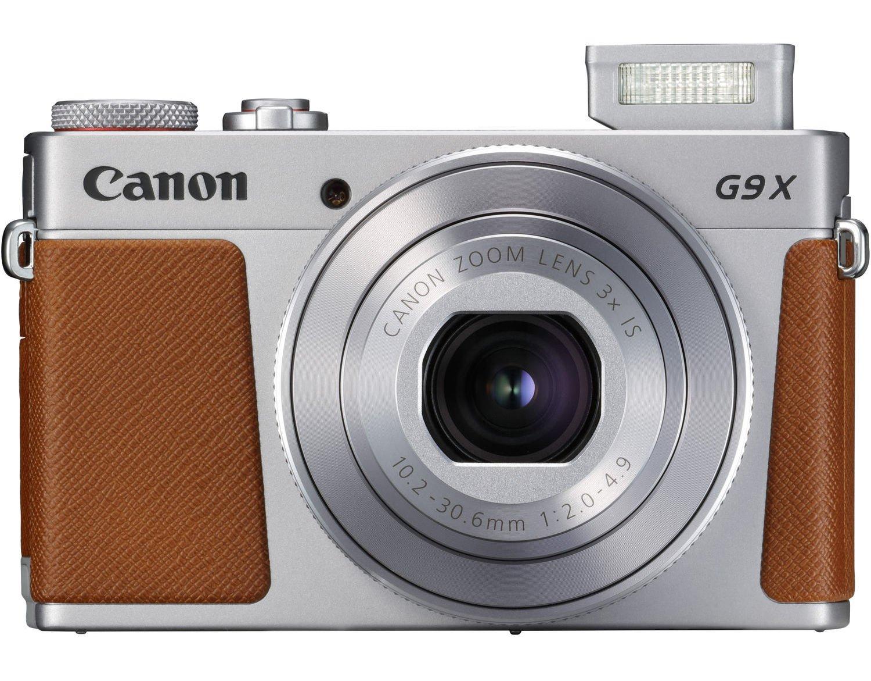 CANON PowerShot G9 X MARK II stříbrný + SDHC 16GB