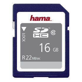 HAMA SDHC 16 GB 22 MB/s