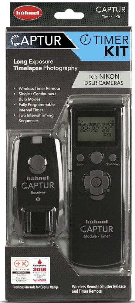 HAHNEL Captur Timer Kit rádiová spoušť s časosběrem pro Nikon