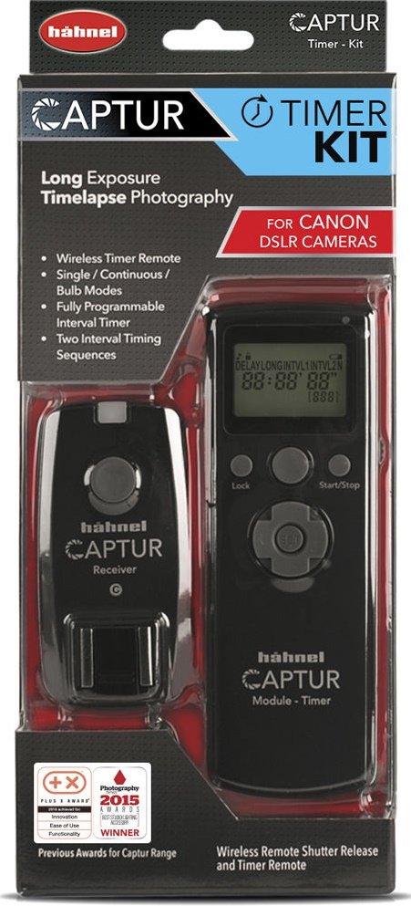 HAHNEL Captur Timer Kit rádiová spoušť s časosběrem pro Canon