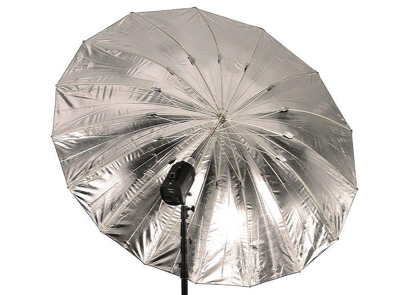 TERRONIC BS-185 Studiový deštník - černý/stříbrný