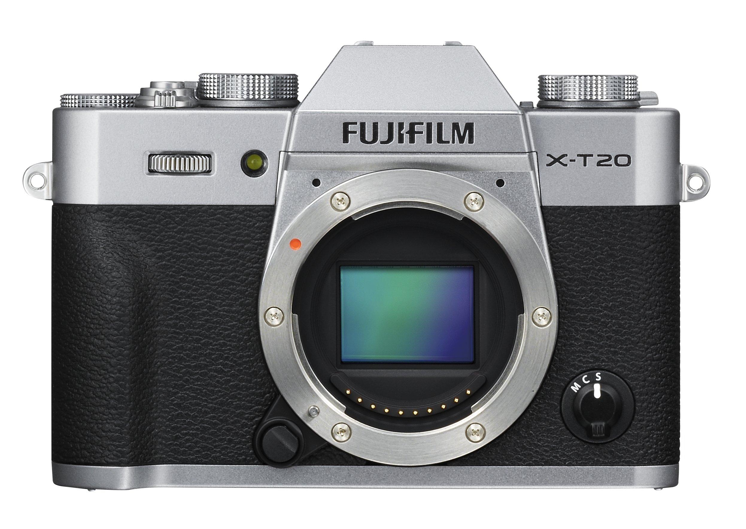 FUJIFILM X-T20 stříbrný
