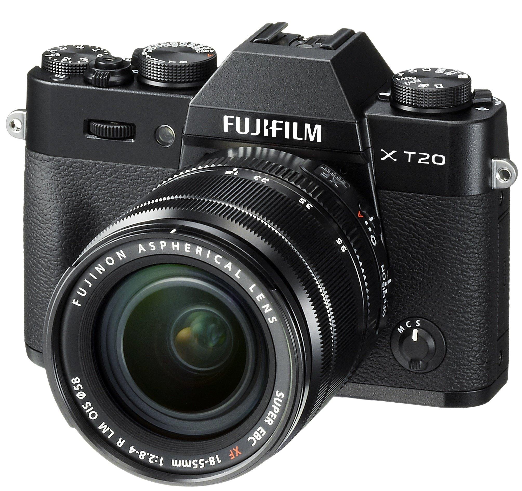 FUJIFILM X-T20 černý + XF 18-55 mm