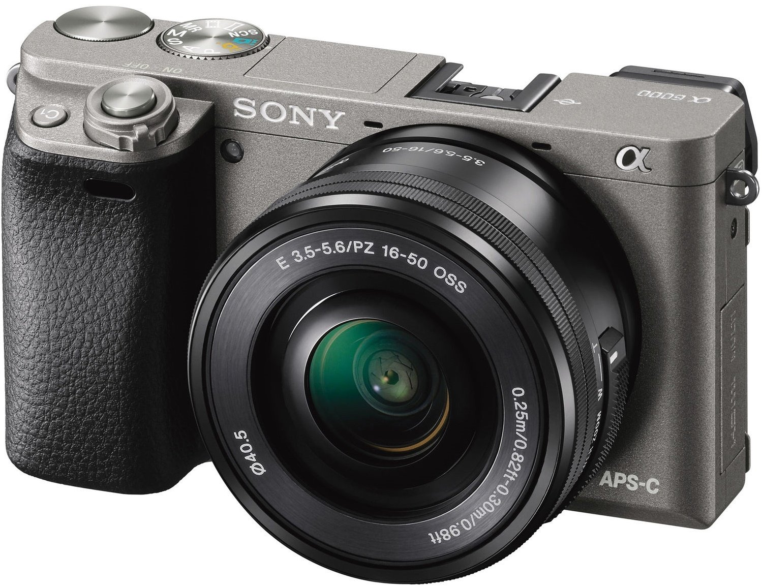 SONY Alpha A6000 šedý + 16-50 mm + 50 mm
