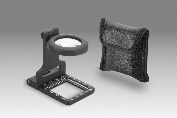 DIOPTRA lupa textilní kovová 6x průměr 20mm