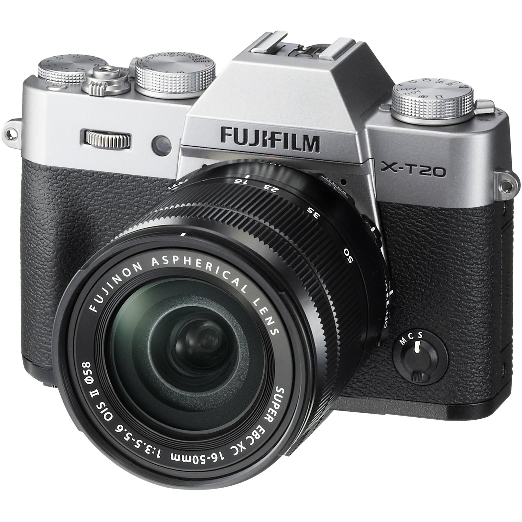 FUJIFILM X-T20 stříbrný + 16-50 mm II