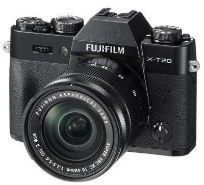 FUJIFILM X-T20 černý + XC 16-50 mm