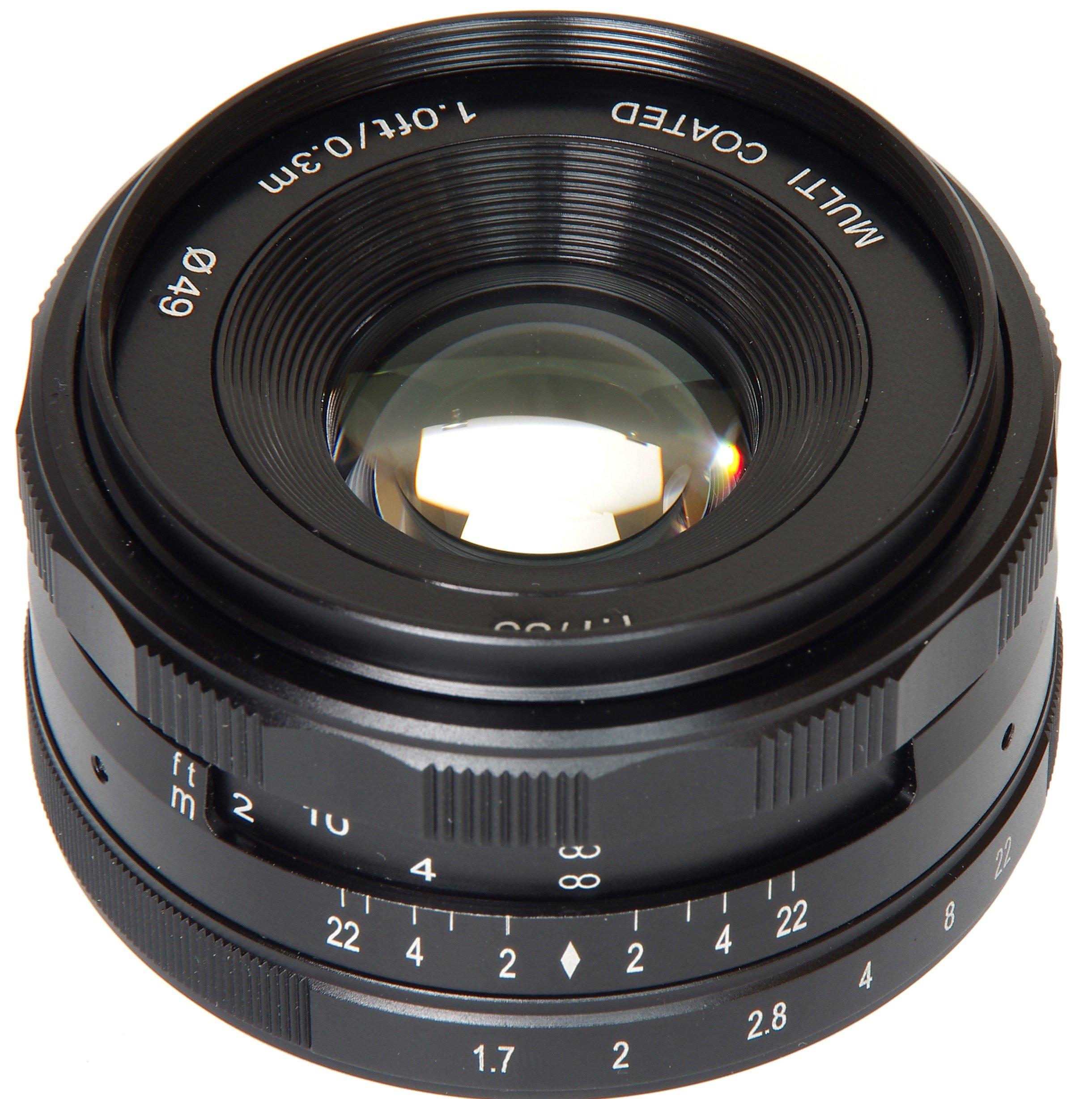 MEIKE 35 mm f/1,7 MC pro Olympus/Panasonic MFT