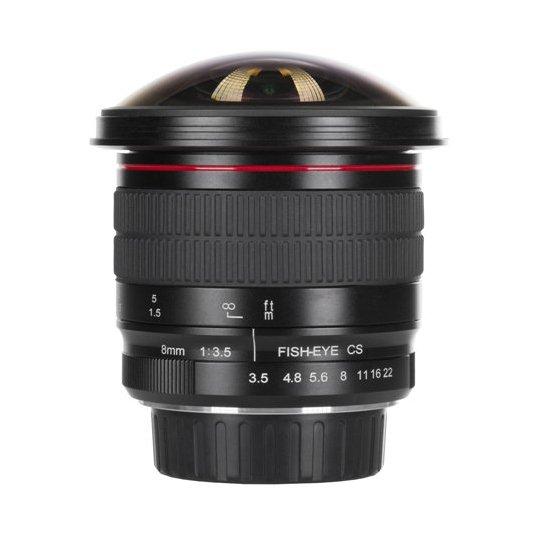 MEIKE 8 mm f/3,5 Fisheye CS pro Canon (APS-C)