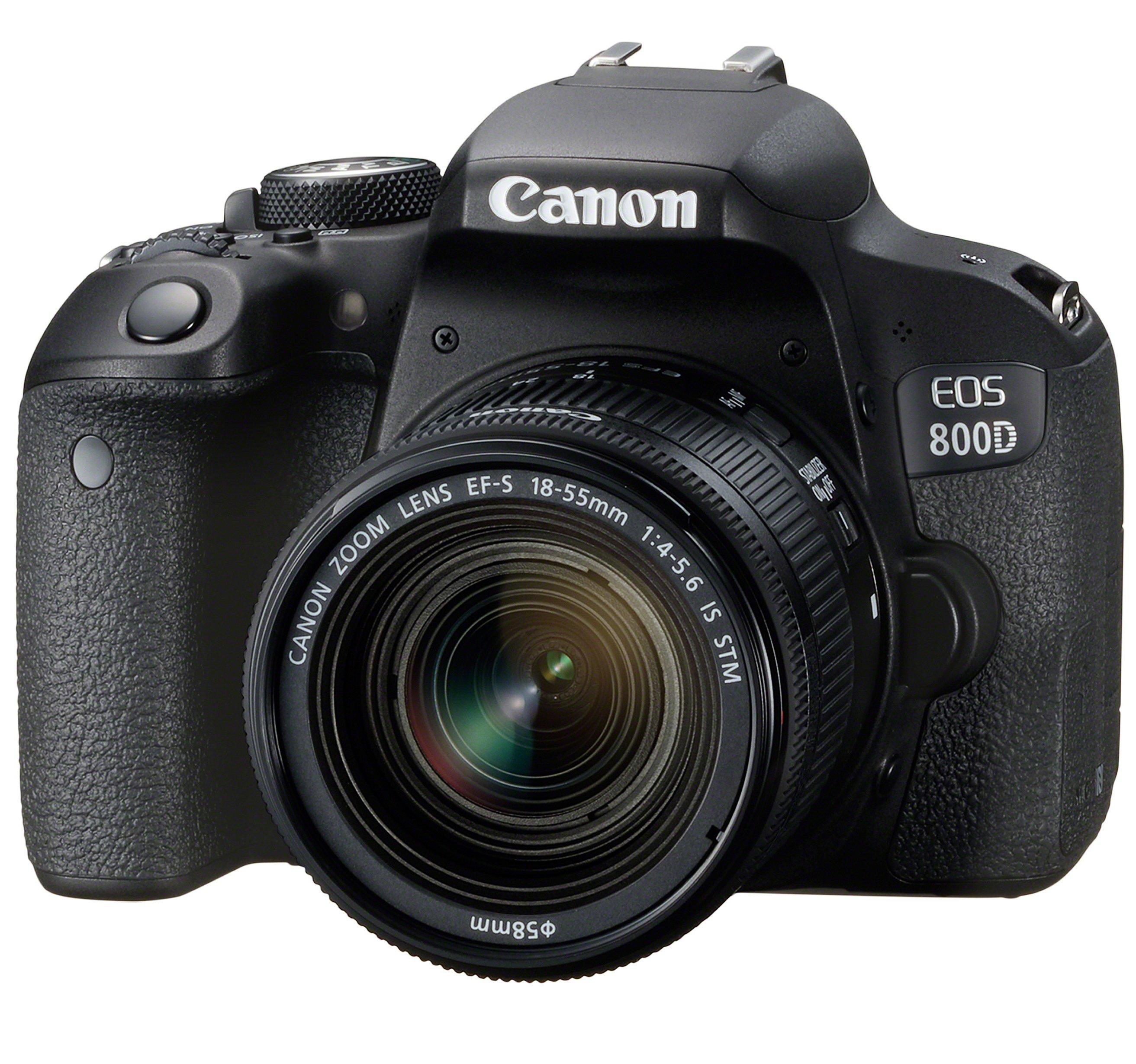 CANON EOS 800D + 18-55 IS STM + manuál pro pokročilé