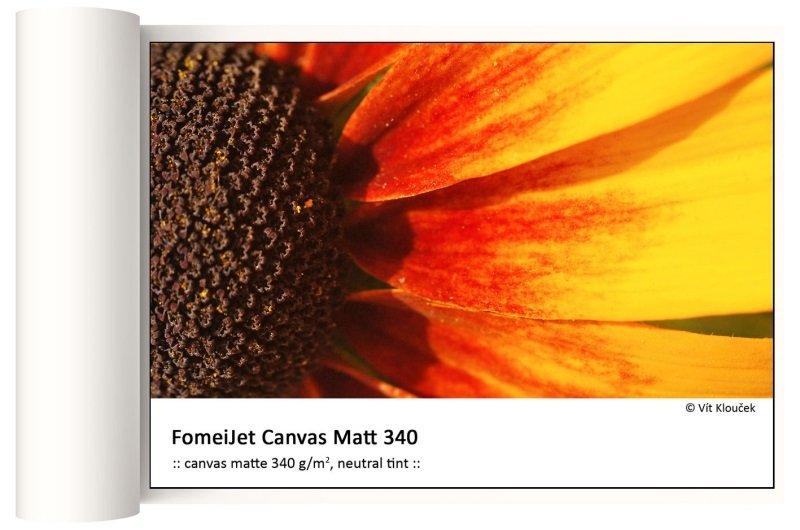 FOMEI Inkjet 106,7cm x 15m FomeiJet Canvas Matt 340