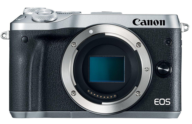 CANON EOS M6 stříbrný