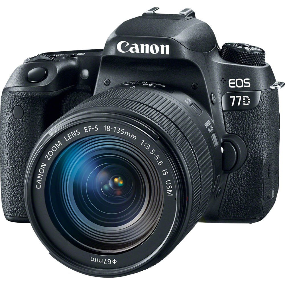 CANON EOS 77D + 18-135 mm IS USM