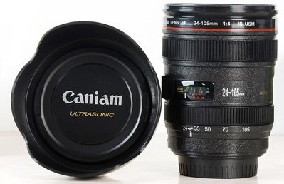 CANIAM pokladnička objektiv 24-105 mm