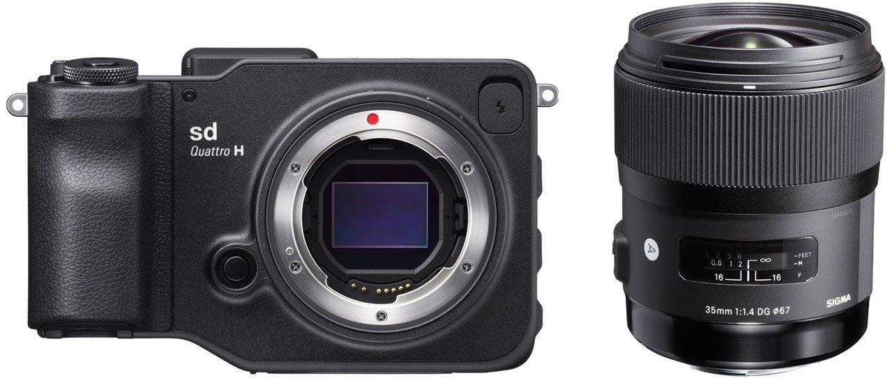 SIGMA SD Quattro H + 35 mm Art