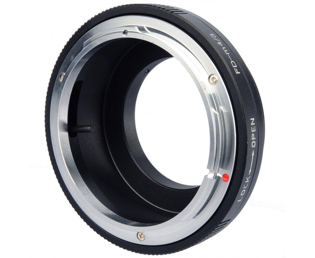 B.I.G. adaptér objektivu Canon FD na tělo Olympus/Panasonic MFT