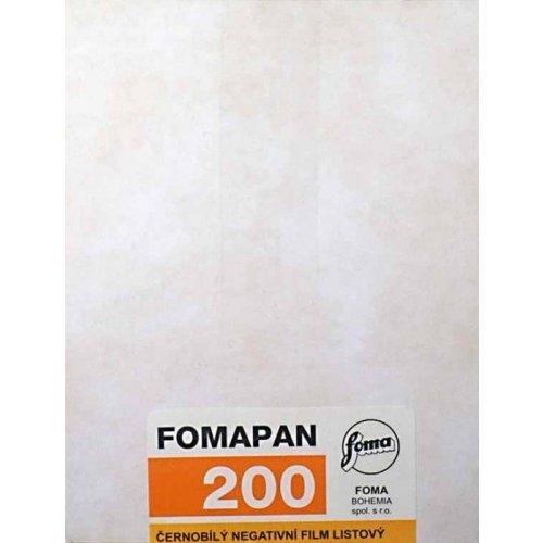 "FOMAPAN 200 10,2x12,7 cm (4x5"")/50 ks"