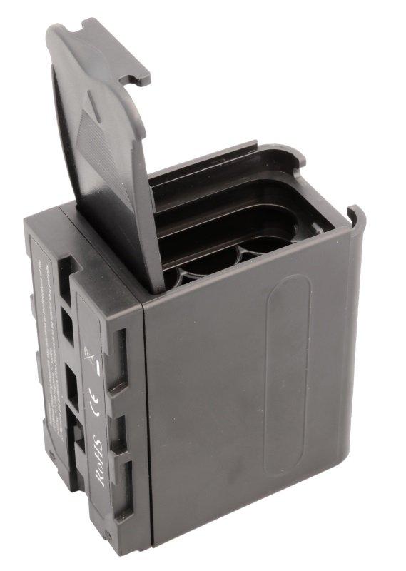 FOMEI bateriové pouzdro pro 6xAA/NP-F Sony