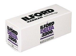 ILFORD Delta 3200/120 - Expirované zboží