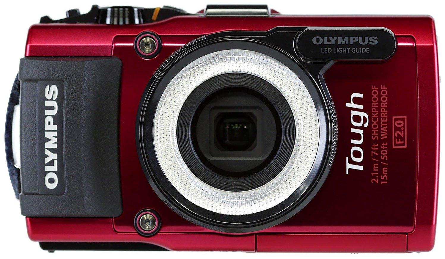 OLYMPUS Stylus TG-4 černý + SDHC 16GB